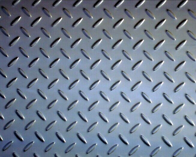 316L Checkered Kitchen License ASME Divided Stainless Steel Coil Plate