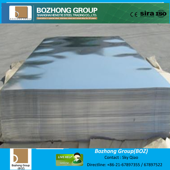 Mirror stainless steel sheet