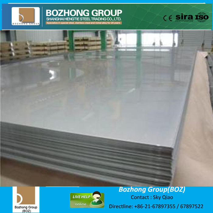 Mirror stainless steel sheet for sale